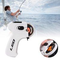 2021 Nieuwe Leo Elektrische Apparaat Automatische Vissen Knoop Proberen Tool Multifunctionele Haak Naald Knotter FishingAccessories Fishingline Winder