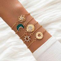 Ensemble de Bracelets Moda Bilezikler Femme