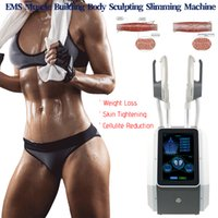 Ems Muscle Building Machine HIEMT Body Slimming And Shaping EMSLIIM Beauty Equipment For Fat Burn Butt lift
