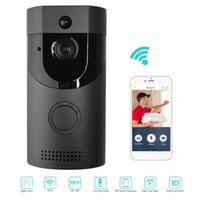 B30 WIFI Waterproof Video Smart Doorbell + B10 Receiver PIR Alarm Wireless Intercom IR Night Vision IP Camera