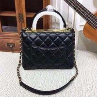 Channel Bag Original Handtasche Imitation Marken 5A Qualität Frauen Luxurys Designer-Taschen Haben Sie die Seriennummer Lämmer Sheepskin Tote Handtaschen Lammbörse kommen mit Kasten