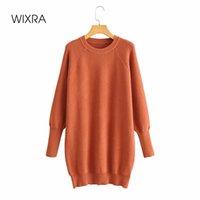 Tricots courts Sweaters Robe Femme Pulls décontractés O Caucides Jumpers automne Hiver Trendy Vêtements 210414