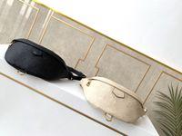 2021 Taille Tasche Mode Männer Frau Original Gürtel Taschen Leder Packsmänner Organizer Reise Notwendigkeit Unisex Reißverschluss Kreuzkörper Geldbörse Free Delive