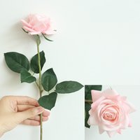 Hydrating Roses Artificial Flower DIY Roses Bride Bouquet Fake Flower for Wedding Decoration Party Home Decors Valentine's Day 1298 V2
