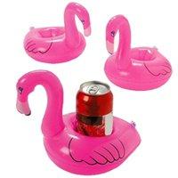 SwanFlamingo 음료 컵 홀더 풀 수레 바 컵 받침 부식 장치 어린이 목욕 장난감 작은 크기