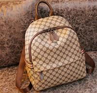 Designer Handbags Women's Shoulder Bags Schoolbag Fashion Leather Backpack Crossbody Women Large Capacity Backpacks