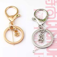20Pcs Metal Swivel Snap Hook Lobster Clasps Lanyard Keyrings Keychain DIY Findings Jewelry Making Supplies Acces Hpive