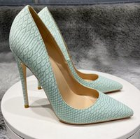 GOOD Shoes Women Red bottoms High Heels 8cm 10cm 12cm plus size eu34-45 Pointed Toes Pumps wedding shoe nightclub Lace sandals summer