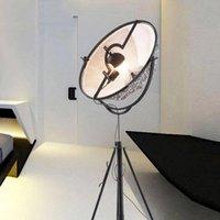 Zemin Lambaları Postmodern Uydu Stüdyosu Lamba Nordic Oturma Odası Yatak Odası Minimalist Tasarımcı Tripod LED Aydınlatma Armatürü