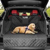 الحيوانات الأليفة غطاء مقعد مقاوم للاهتراء الكلب السيارات ل suv جذع للماء وسادة دائم بطانة البضائع حصيرة اللوازم يغطي السيارة