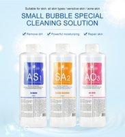 ODM OEM manufacturer 400ml AS1 SA2 AO3 set peeling solution hydro dermabrasion jet peel water oxygen machine facial aqua peel solutions