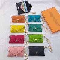 السيدات حقيبة جلد بطاقة الأزياء سلسلة مصممحقيبة العلامة التجارية الخامس القراءة الزجاج مصغرة رسول حامل محفظة