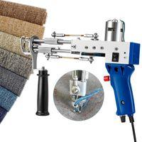 Elektrischer Teppich Tufting Gun Weaving Blocking Maschine Industrielle Stickerei Schnitt Stapel Stricken (Schnitthaufen) Nähen Vorstellungen Werkzeuge