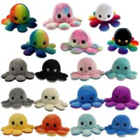 2021 Mood Octopus Doll Double Sided Fidget Toys Pulpo Mood Octopus Plush Octopus Toys For Kids pluszak Soft toy cosplay Toys