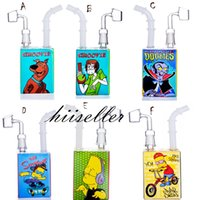 beaker bong water pipes hookahs heady glass oil rigs smoke pipe dab nail juice box bubbler wax cigarette with 14mm joint