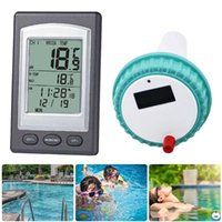 Pool & Accessories Wireless Receiver Professional Swimming Thermometer Indoor Outdoor Water Temperature Tester Kids Digital Display