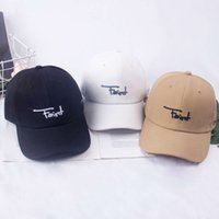여성의 부드러운 하드 탑 문자 수 놓은 야구 모자 남성용 다용도 캡 태양 바이저 VIP