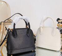 패션 핸드백 21 새로운 디자이너 고품질 편지 쉘 가방 유행 숙녀 대각선 어깨 가방 뜨거운 흑백 WF2012152