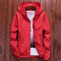 Куртка Женщины красный 7 Цветов 7XL Плюс Размер Свободный Водонепроницаемый Пальто Осень Мода Леди Мужчины Пара Шикарная Одежда LR22