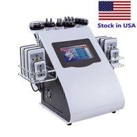 6 in 1 Vakuumlaser Abnehmen Maschine RF 40k Körperformung Lipolaser Ultraschallkavitation Gewichtsverlust für spa