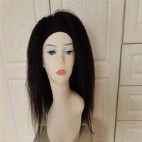 Brésilien Vierge humaine Remy Cheveux Hair Bandeau de tête Perruques 9A Produits Néanmoins Naturels Naturel Staight pour femmes noires