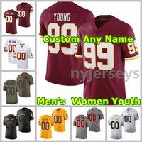 2021 Redskins American Football Jerseys Antonio 24 Gibson Jersey Terry 17 Mclaurin Chase 99 Junge Sammy 33 Baudh Bobby 49 Mitchell John 44 Riggins Custom genittelt