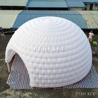 عملاق قابل للنفخ نفخ Igloo خيمة في الهواء الطلق قبة الحدث حزب wigwam مع منفاخ الهواء للإعلان والديكور