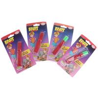 2pcs Kids Toys Fart Whistle Clásico Juguetes de ruido simulado Fart Sound Spoof Toys