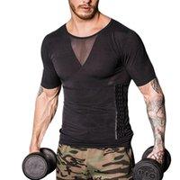 Men's Body Shapers Men Shaper Slimming Vest Loss Weight Sport Shirt Tank Top Waist Slim Girdle Bodyshaper Underwear Corset Bodysuit