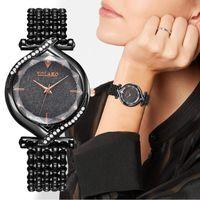 Armbanduhren Mode Luxus Dame Kreative Uhr Explosionsmodell Digital Eingelegt Strass Casual Quartz Frauen 2021 Orologio Relógio