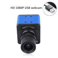 Webcams 1080p HD Caméra ordinateur webcam 2 mégapixels 5x zoom optique 155 degrés degré de vision de large mode de mise au point automatique