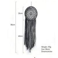 أسود بوهو عين الله الأسود اليدوية حلم الماسك التقليدية نعمة هدية للسيارة الجدار شنقا الحضانة أطفال dreamcatcher GWF8391
