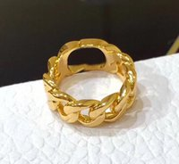 Mode Gold Lettre Love Anneaux Bague pour Lady Femmes Party Fête Amoureux de mariage Bijoux de fiançailles avec boîte