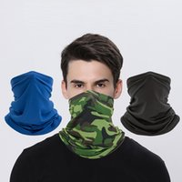 Bicycle sunscreen ice silk turban mask neck outdoor fishing magic scarf multi-functional cycling sports cover