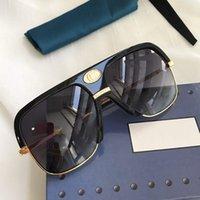 0478s Diseñador Gafas de sol para Mujeres y Hombres Unisex Medio Marco Revestimiento Lente 0478 Máscara Gafas de sol Piernas de fibra de carbono Estilo clásico de verano