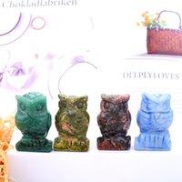 Adornos de estatuas de artesanías y artesanías de cristal Adornos de mesa de escritorio A Ornamento de estilo chino de 1,5 pulgadas 753 B3