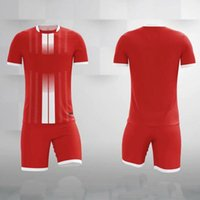 Blank Kids Soccer Jersey Set Adult Football Kits Clothes Men Tracksuit Short Children Soccer Training Suit Sport Wear Uniform