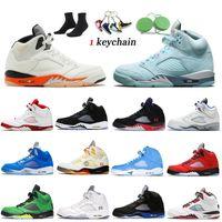 Nike Air Jordan Retro 5 5s off white Jumpman 5 2020 Fire Red Bel Airs Black Muslin ТОП 3 мужские баскетбольные кроссовки с альтернативным виноградом Мичиган-Айленд женские