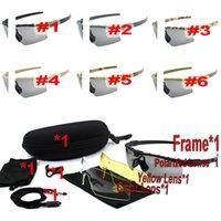 Полный набор поляризационные солнцезащитные очки для мужчин Женщины США Версия Tactical стрельба очки ветрозащитные взрывозащищенные пуленепробиваемые военные боера
