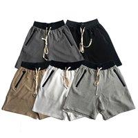 2021 Niebla Essentials 3M Pantalones cortos reflectantes Hombres Mujeres Diseñador Pantalones Pantalones de primavera Miedo de la primavera a Dios deportes Corriendo el corredor de caminos de gran tamaño S-XL 8899 #