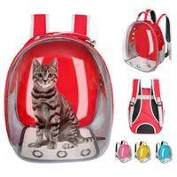 Cat Carrier, Kisten Häuser Tragetasche Atmungsaktive Transparente Welpen Rucksack Katzen Box Käfig Kleine Hund Tier Reise Handtasche Raum