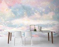 Shuhiko Customized 3D Wallpaper Modern Fawn Girl Cute Kids Room TV Background Bedroom Home Decor Wallpapers