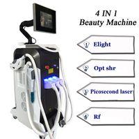Picosecond Laser Tattoo RIMOZIONE IPL Skin ringiovanimento 3 Maniglia RF Face Lifting Machine 10.000.000 Destremi