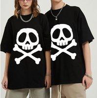 Men's T-Shirts Cool Black TShirt Space Pirate Captain Harlock Arcadia Kei Yuki Anime Homme T-Shirt Tees Pure Cotton Oversized Short Sleeve