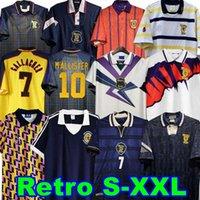 1978 1986 1982 كأس العالم النهائي اسكتلندا ريترو لكرة القدم جيرسي McCoist Gallacher Lambert Classic Classic Leisure Football Scirt 1988 89 90 91 92 93 94 95 96 97 98 98 9