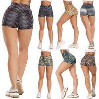 Sommer Frauen Casual Yoga Shorts Hohe Taille Energie Körper Fitness Kleidung Fitnessstudio Shorts Sports Laufender Elastischer Skinny Beach Kurz heiß heiß