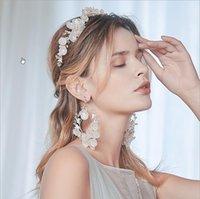Человеки для наушников Роскошные игристые свадебные свадебные кристалл Tiara Princess Pageant Prom Hinestone головной повязку