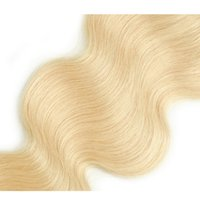 Body wave 613 Lace Closure Hair Blonde Bleached Knots 4x4 Brazilian Virgin Human Free Part Pre Plucked