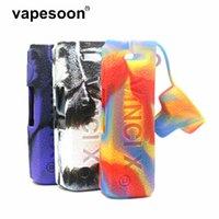Vapesoon 보호 실리콘 텍스처 케이스 Vinci x 2 x2 80w 키트 vape 스킨 소매 커버 소매 맥박 파괴