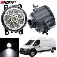 2 pcs Super lâmpada de nevoeiro LED brilhante para Ford Focus Mitsubishi Grandis Honda Subaru